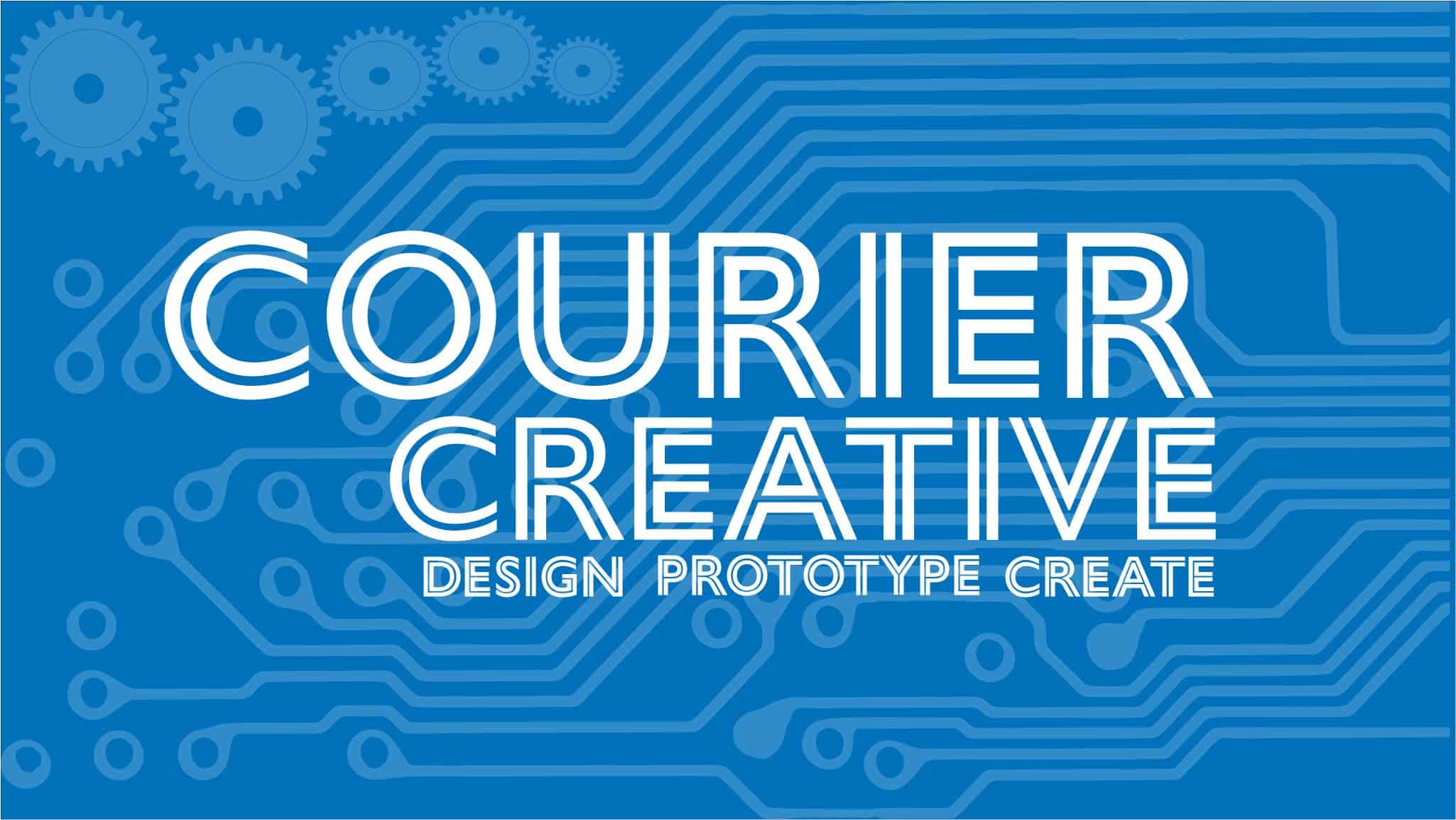 Courier Creative Logo
